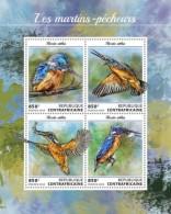 Central Africa 2018 Kingfishers Birds   S201808 - Centrafricaine (République)