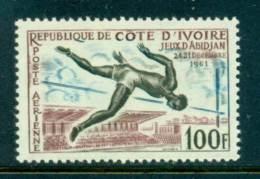 Ivory Coast 1961 Abidjan Games Air Mail MUH Lot41651 - Ivory Coast (1960-...)