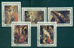 Ivory Coast 1983 Paintings By Rubens CTO Lot46289 - Ivory Coast (1960-...)