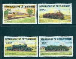 Ivory Coast 1984 Trains MUH Lot51947 - Ivory Coast (1960-...)