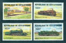 Ivory Coast 1984 Trains MUH Lot51972 - Ivory Coast (1960-...)