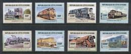 Ivory Coast 2005 Trains MUH - Ivory Coast (1960-...)