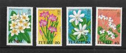 TUVALU 1978 FLEURS  YVERT N°80/83 NEUF MNH** - Végétaux