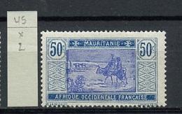 Mauritanie - Mauretanien - Mauritania 1922-26 Y&T N°45 - Michel N°(?) * - 50c Série Courante - Unused Stamps