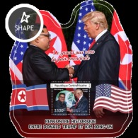 Central Africa 2018 Donald Trump And Kim Jong-un  US -DPR KOREA   Summit SIngaore  S201808 - Repubblica Centroafricana