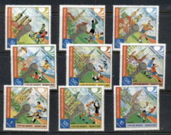Equatorial Guinea 1974 World Cup Soccer Munich CTO - Equatorial Guinea