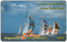 ANTIGUA & BARBUDA A-116 Magnetic Cable & Wireless - Sport, Event, Yacht Regatta - 13CATB - Used - Antigua And Barbuda