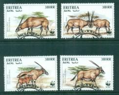 Eritrea 1996 WWF Beisa Oryx FU - Eritrea