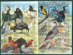 Eritrea 1998 Birds 2x Sheetlets MUH - Eritrea