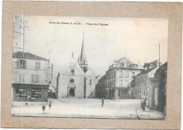 JOUY EN JOSAS - 78 - Place De L'Eglise - Jeunes Garçons 1er Plan - Edit Nicolas - DELC2 - - Jouy En Josas