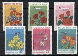 Gabon 1971 Flowers MUH - Gabon