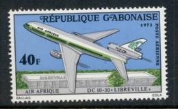 Gabon 1973 Airplane Libreville MUH - Gabon