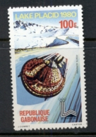 Gabon 1980 Winter Olympics, Lake Placid 100f MUH - Gabon