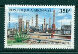Gabon 1988 Port Gentil Refinery MUH Lot38708 - Gabon