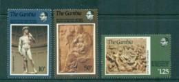 Gambia 1975 Michaelangelo MUH Lot73084 - Gambia (1965-...)