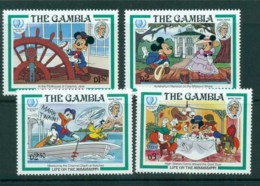 Gambia 1985 Disney, Life On The Mississippi MUH Lot73159 - Gambia (1965-...)