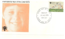 (200) Australia - 1979 FDC Cover - Year Of The Child - Edgecliff Postmarks - 2 Covers - FDC