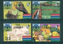 Gambia 1985 UN FAO 40th Anniv. MUH Lot73164 - Gambia (1965-...)