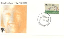 (200) Australia - 1979 FDC Cover - Year Of The Child - Vaucluse Postmarks - 2 Covers - FDC
