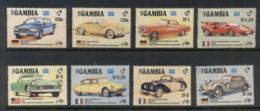 Gambia 1986 Cars MUH - Gambia (1965-...)