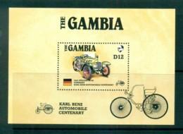 Gambia 1986 Classic Cars Carl Benz 1x MS MUH Lot73175 - Gambia (1965-...)
