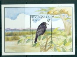 Gambia 1991 Birds, Buffalo Weaver MS MUH - Gambia (1965-...)