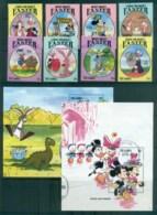 Gambia 1994 Disney, Celebrate Easter+ 2x MS FU Lot80045 - Gambia (1965-...)