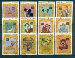 Gambia 1994 Disney, Year Of The Dogs FU Lot80043 - Gambia (1965-...)