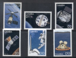 Gambia 1999 The History Of Space Exploration MUH - Gambia (1965-...)