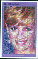 Gambia 2000 Millenium, Princess Diana, A World Of Peace & Understanding MS MUH - Gambia (1965-...)