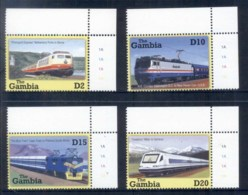 Gambia 2001 Trains MUH - Gambia (1965-...)