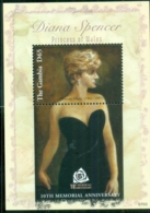 Gambia 2007 Princess Diana In Memoriam, 10th Anniv., A StylishPrincess MS MUH - Gambia (1965-...)