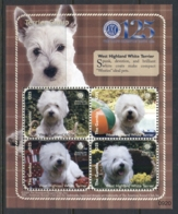 Gambia 2009 Dogs, West Highland Terrier MS MUH - Gambia (1965-...)