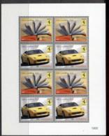 Gambia 2010 Ferrari Sheetlet MUH - Gambia (1965-...)