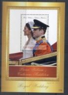 Gambia 2011 Royal Wedding William & Kate #1129 D65 MS MUH - Gambia (1965-...)