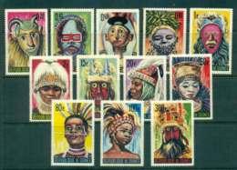 Guinee 1965 Tribal Masks MLH Lot43647 - Guinea (1958-...)