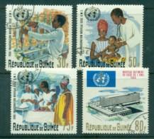 Guinee 1967 WHO (4) CTO - Guinea (1958-...)