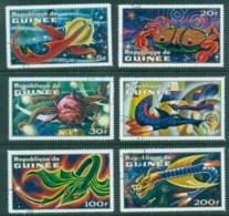 Guinee 1972 Imaginary Space Creatures (6) CTO - Guinea (1958-...)