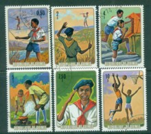 Guinee 1974 National Pioneer Movement (6) CTO - Guinea (1958-...)