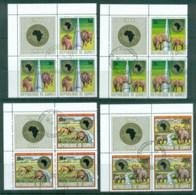 Guinee 1975 African Development Bank (Blk4, 3+label) CTO - Guinea (1958-...)