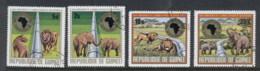 Guinee 1975 African Development Bank, Lion Elephant CTO - Guinea (1958-...)