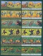 Guinee 1977 Endangered Animals (12x3) CTO - Guinea (1958-...)