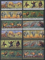 Guinee 1977 Endangered Animals CTO - Guinea (1958-...)