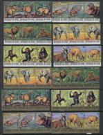Guinee 1977 Endangered Animals MUH - Guinea (1958-...)