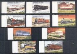 Guinee 1992 Trains MUH - Guinea (1958-...)