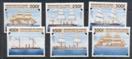Guinee 1997 19th Century Sailing Warships MUH - Guinea (1958-...)