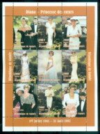 Guinee 1997 Princess Diana In Memoriam, Glamour Girl MS MUH - Guinea (1958-...)