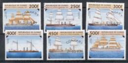 Guinee 1997 Sailing Ships CTO - Guinea (1958-...)