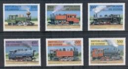 Guinee 1997 Steam Trains MUH - Guinea (1958-...)