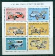 Guinee 1998 Antique Cars MS MUH - Guinea (1958-...)